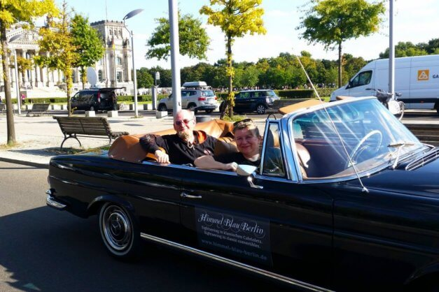 Private SightseeingTour Berlin im Cabrio